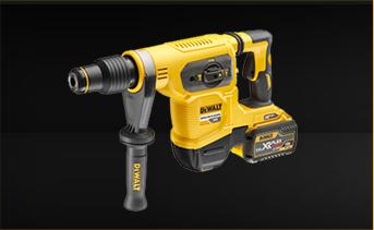 DeWALT DCH481X2-GB - 54V XR Flex Volt SDS Max Rotary Hammer