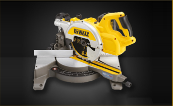 DeWALT DHS780T2-GB - 54V XR Flex Volt Mitre Saw