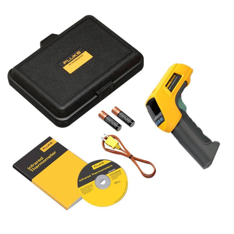FLUKE 566 - Thermal Gun Infrared & Contact Thermometer 30:1