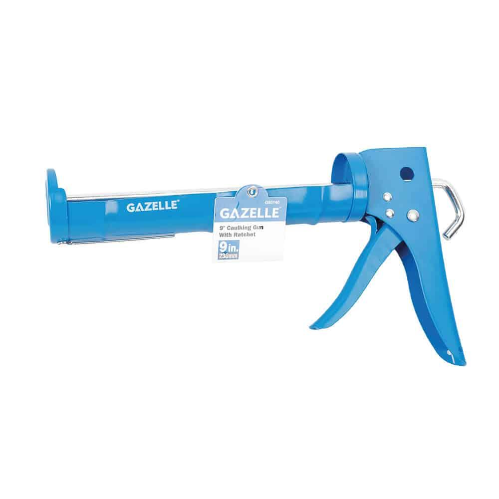 GAZELLE G80140 - 9″ Caulking Gun With Ratchet