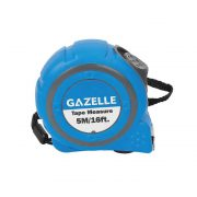 GAZELLE G80171 - 5M(16Ft) Tape Measure With Rubber Cover