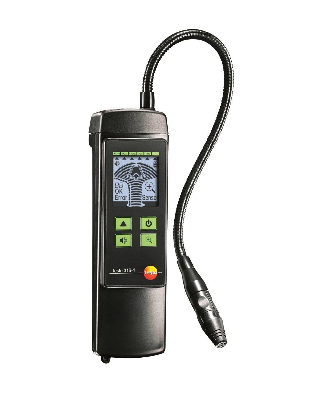 TESTO 316-4 SET 1 - Air Velocity and IAQ measuring Instrument leak detector for Refrigerants
