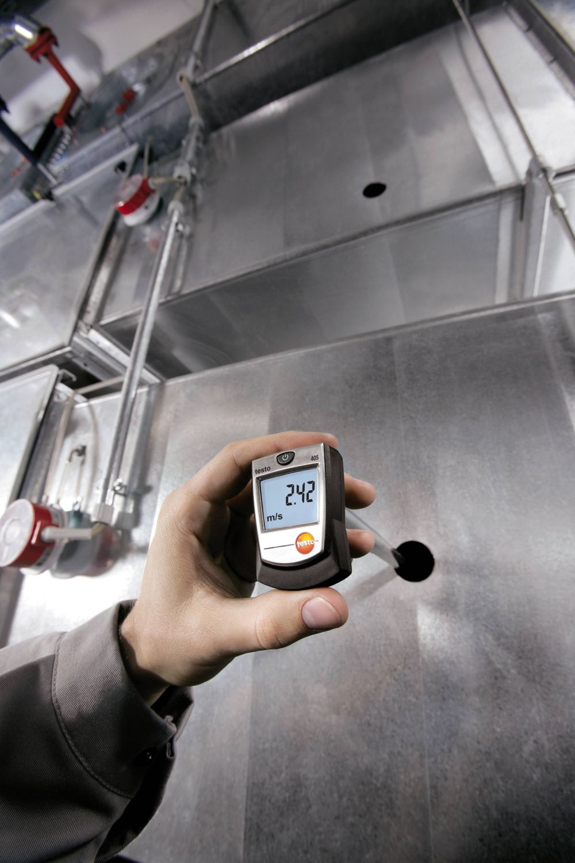 testo-405-application-velocity-004318_master - Thermal Anemometer