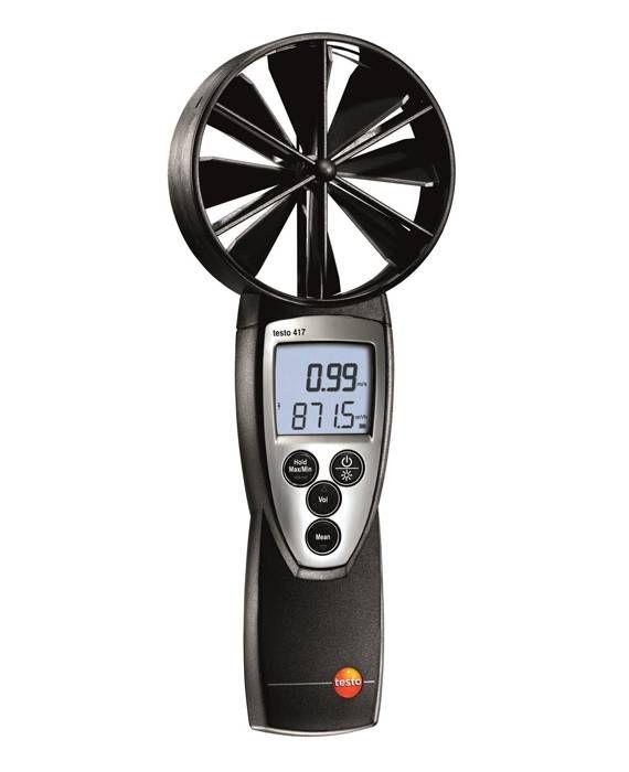 TESTO 417 - Air Velocity and IAQ measuring Instrument