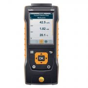 TESTO 440-dP - Air velocity and IAQ measuring instrument