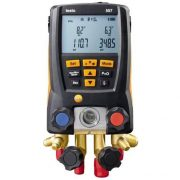 TESTO 557 - DIGITAL MANIFOLD KIT – WITH BLUETOOTH AND SET OF 4 FILLING TUBES