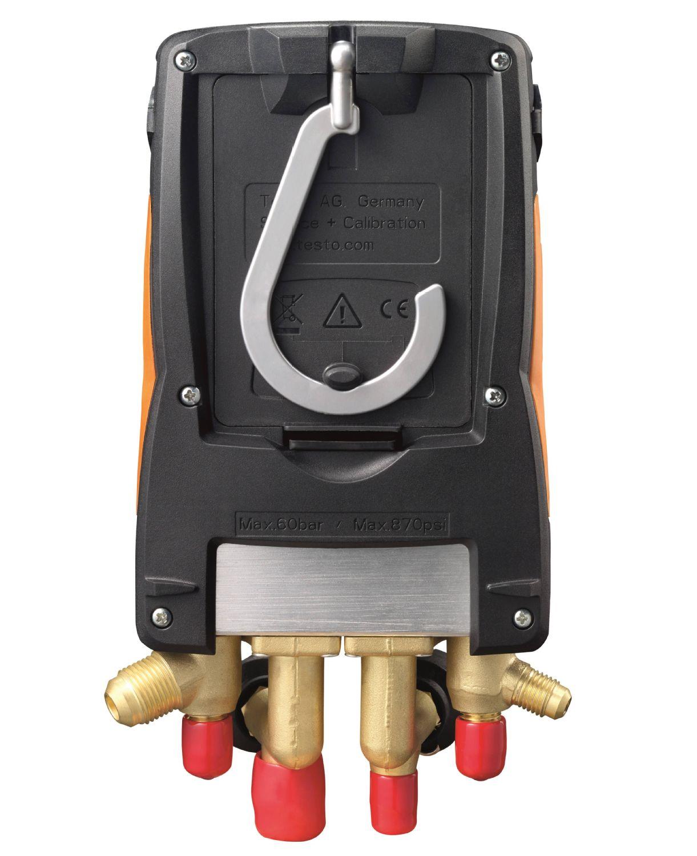 testo-557-instrument-refrigeration-005398_master - DIGITAL MANIFOLD KIT – WITH BLUETOOTH AND SET OF 4 FILLING TUBES