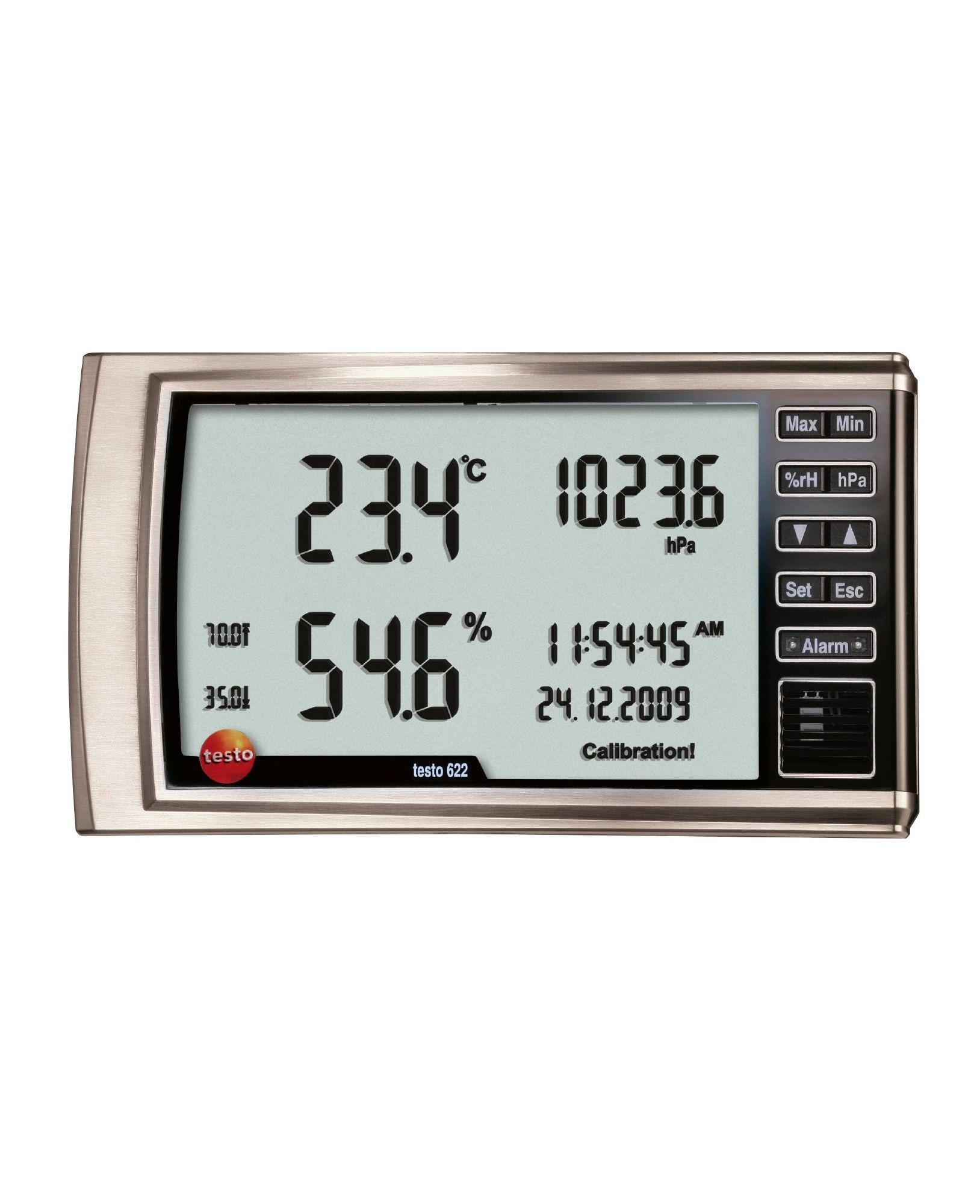 TESTO 622 - Thermohygrometer and Barometer